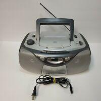 Magnavox MCS200SL CD Boom Box, Casette, AM/FM Radio - Tested and Working!