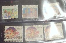 STAMP COLLECTION of 12 Assorted Australia/New Zealand/USA Postage Stamps Franked