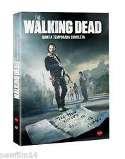 THE WALKING DEAD DVD TEMPORADA 5 QUINTA COMPLETA NUEVO ( SIN ABRIR )