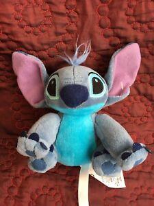 "Disney Lilo And Stitch And Toy 7"" Soft Velvety Stuffed Plush Stitch"