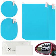 8X Auto Anti-Fog-Folie Regenschutz Rückspiegel Blendschutz Anti-Beschlag Blau