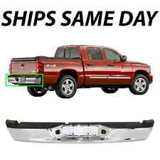NEW Chrome - Steel Rear Step Bumper Assembly for 2005-2011 Dodge Dakota Truck