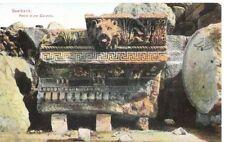 Lebanon Old Postcard Middle East Part Of A Column, Jupiter Temple, Baalbek