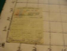 vintage original paper: July 10, 1958 CT Regist Motor Vehicle Operator's License