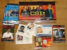 CSI: Miami Series 2 Sealed Box of Autograph Trading Cards + Promos Strictly Ink