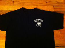 Vintage Haddonfield New Jersey NJ N.J.  Bulldog Soccer Club Black Youth T-shirt