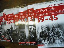 le seconde guerre mondiale 39-45 Trésor du patrimoine  10 volumes complet