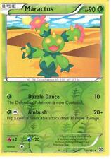 POKEMON BLACK AND WHITE PLASMA STORM - MARACTUS 11/135 REV HOLO