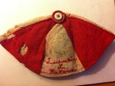 vintage high school hat beanie signed Luentin Peters Clifton Colorado Moth Eaten