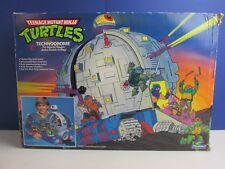 COMPLETE TMNT vintage TECHNODROME PLAYSET teenage mutant ninja turtles & KRANG