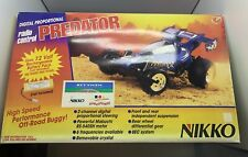 VTG NIKKO Predator R/C 1/10 Scale High Speed Off-Road Buggy FULL BOX NEW UNUSED