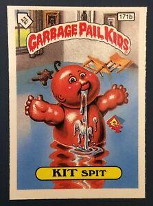 Kit Spit 171b UK Garbage Pail Kids Series 5(1987)Black Bar~NMT/MNT~Very Rare
