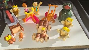 McDonalds Flintstones 1994 Happy Meal toys bundle