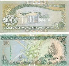Malediven / MALDIVES - 100 Rufiyaa 2000 UNC - Pick 22b