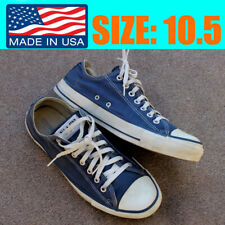 New listing Vintage Converse All Star Usa Made Blue Low Top shoes sneaker Chuck Taylor 10.5