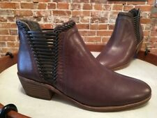 Vince Camuto Brown Leather Pippsy Ankle Bootie Boots 9.5 New