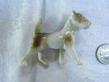 Vintage porcelain Airedale Terrier figurine Dog Germany