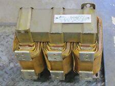 HAMMOND 6915003 JR 600A 600 A AMP 600V DRY TYPE 120 hz REACTOR TRANSFORMER