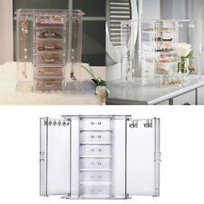 Large 6Tier Acrylic Cosmetic Makeup Case Organiser 6 Drawers Jewelry Storage Box