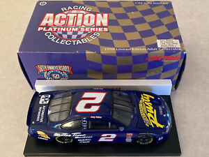 1/24 Rusty Wallace 1998 #2 Miller Adventures Of Rusty Ford Taurus Diecast Car