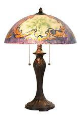 Lámpara De Mesa Pintado A Mano