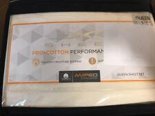 Sheex Pro Cotton Performance Sheet Set Queen Ivory