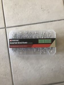 Parkside Assorted Blind Rivets 320 pieces NEW
