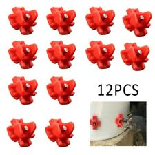 12PC Automatic Poultry Drinkers Water Drinking Chicken Waterer Tools Farm Drink