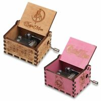 Sailor Moon Music Box Engraved Wooden Music Box Interesting Toys Christmas Gifts