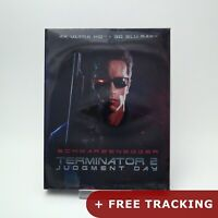 Terminator 2: Judgment Day  4K UHD & 3D Blu-ray w/ Slipcover NOVA