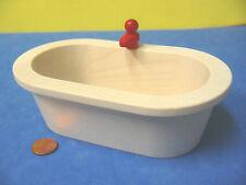 Rülke 22254 Badewanne Rustikal 1:12 für Puppenhaus aus Erzgebirge Holz NEU # Puppenstuben & -häuser