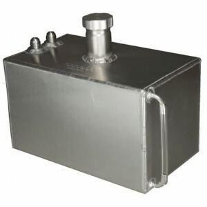 OBP 2 Gallon Square Aluminium JIC Fuel Tank (OBPFTJIC001)