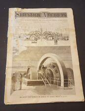 1894 SCIENTIFIC AMERICAN SEPTEMBER 8 EASTERN POWER OF BROOKLYN CITY RAILROAD COM