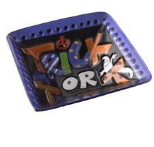Celebrating Home Trick or Treat Glass Fused Bowl New in Box!