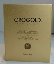 OROGOLD 24K Multi-Vitamin Night Nourishment + Retinol 30g/1oz