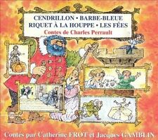 CATHERINE FROT/JACQUES GAMBLIN - LES CONTES DE CHARLES PERRAULT NEW CD