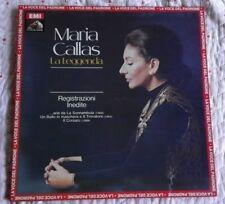 CALLAS MARIA - LA LEGGENDA - REGISTRAZIONI INEDITE - 1 LP EMI 3C 065-03253