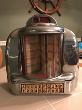 Seeburg Jukebox Radio Diner Model Type 3W-1 Table Wall Original 100 Wall-O-Matic