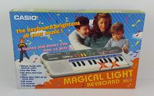 CASIO ML-1 - MAGICAL LIGHT ELECTRONIC KEYBOARD - NUOVO NEW OLD STOCK - Vintage