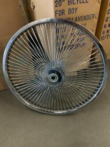 "Bicycle Hollow Hub Wheel 20"" x  140 Spokes for 5/8"" Axle Lowrider Trike Bikes"