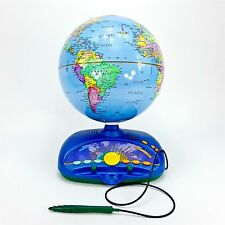 Leap Frog Explorer Interactive World Globe Quantum Talking Learning Games 16x9""