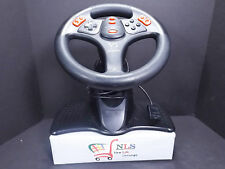 Sony PlayStation & PS2 Racing Wheel & Foot Pedals InterAct V3 Tilt & Telescoping