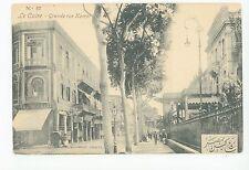 Grande rue Kamel CAIRO Antique Caire CPA Kamel Street—Egypt <1908