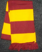 AMBER AND CLARET BAR SCARF