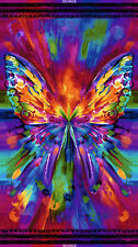 "Awaken Abstract Butterfly Panel-Timeless Treasures-Approx. 23"" x 43"""