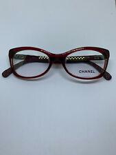 Chanel 3287-Q Red Glasses Frame 52-17-140