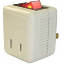 Light Switch Adapter. Single Port  ..Power Switch Electrical Accessories
