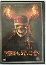 PIRATES OF THE CARIBBEAN DEAD MAN'S CHEST R3 DVD JOHNNY DEPP