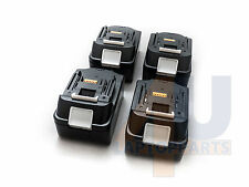 4 x 18 V 4.0Ah Batteria al Litio Ion per Makita BL1830 LXT Heavy Duty sostituire UK