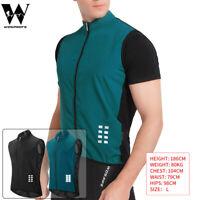 Men's Cycling Vest Windproof MTB BMX Bike Gilet Mesh Back Sleeveless Reflective